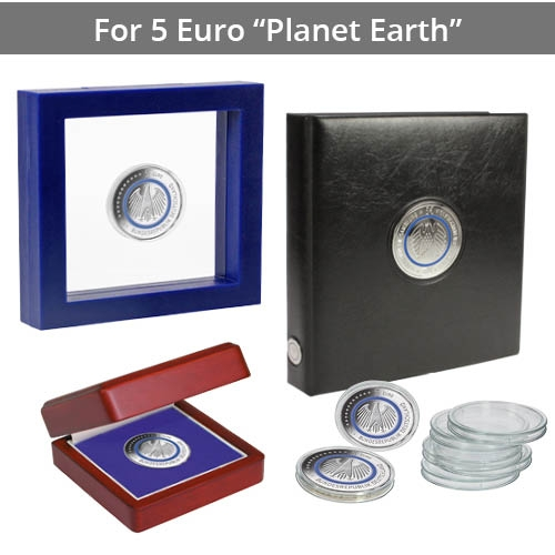 "All 5 €uro ""Planet Earth"" Coins"