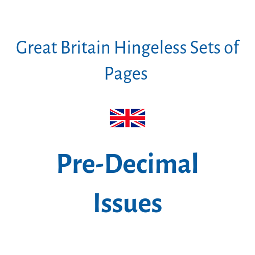 Pre-Decimal Issues |1952-1970| (pages only)