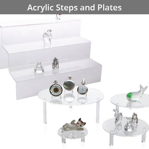 Acrylic Base/Stand/Column/Plate/Steps