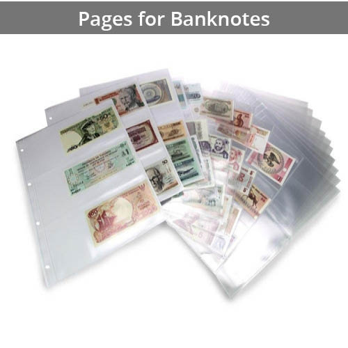 Banknote Pages and Wallets