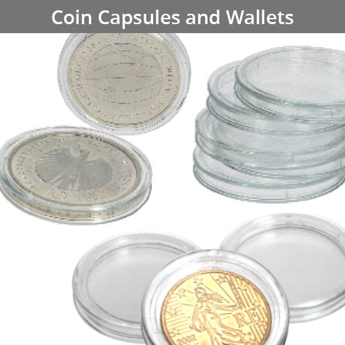 Coin Capsules & Wallets
