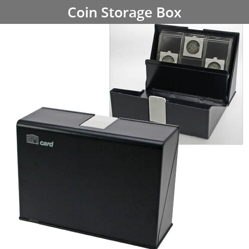 Coin Storage Boxes