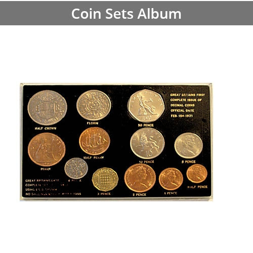Pages for Coin Sets Album