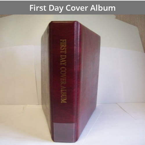 First Day Cover Albums