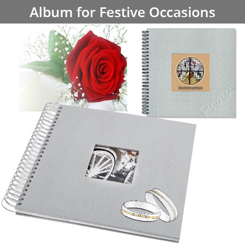 Albums for Festive Occasions
