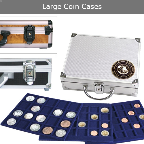 Large Coin Cases