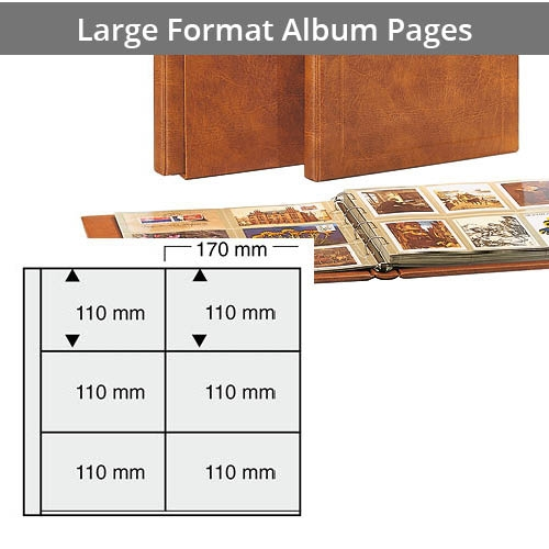 Additional Pages for Large Format Albums