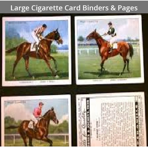 Large Cigarette Card Binders & Pages