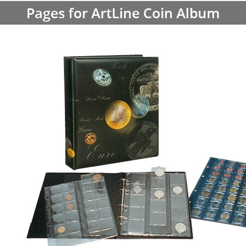 Pages for ARTline Coin Album