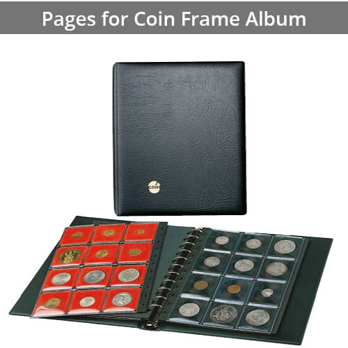 Pages for Coin Frame Albums N and S