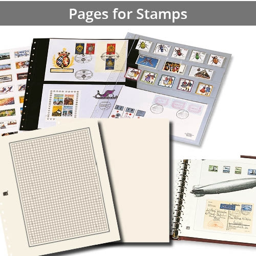Pages for Stamps