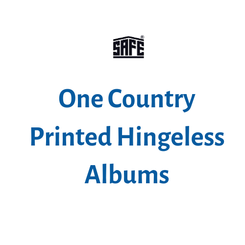 SAFE Country Printed Hingeless Albums