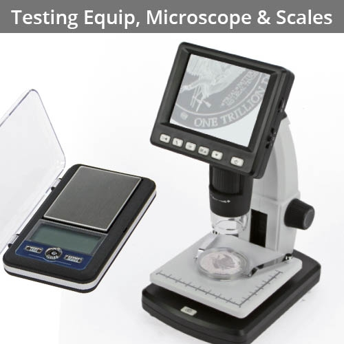 Testing Equipment, Microscopes & Scales