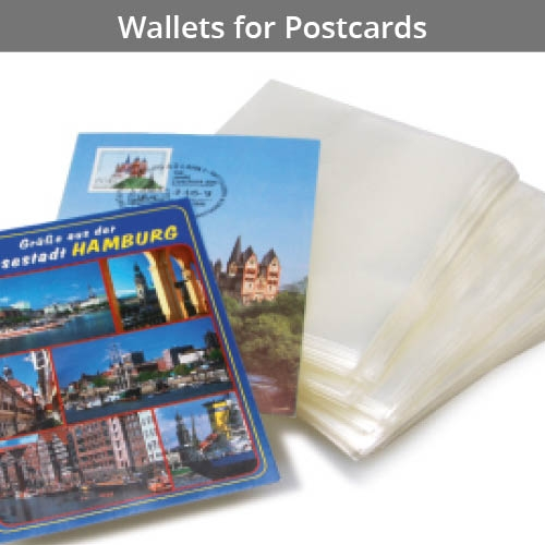 Wallets for Postcards