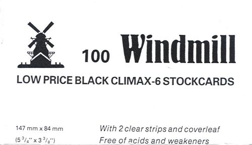 Climax Stockcards