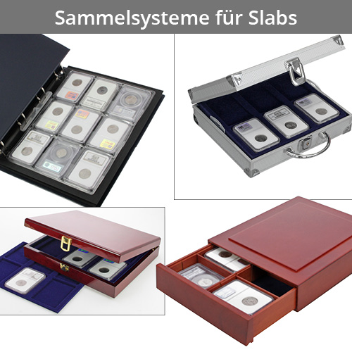 Collection systems for slabs