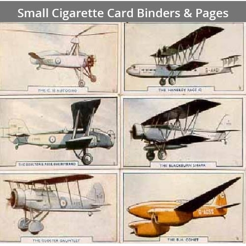 Small Cigarette Card Binder & Pages