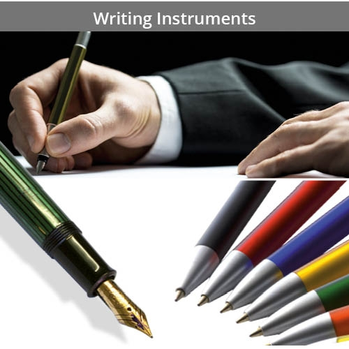 For Writing Instruments, Pens