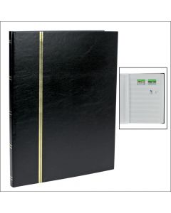 Stock Book - With 16 White Sides