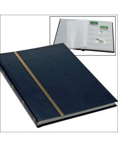 Stock Book in Book Format - Blue