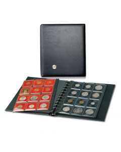 Patented Coin Frame Album with Black or Red Frames