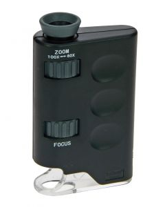 Zoom Microscope - for Stamps, Coins, Banknotes
