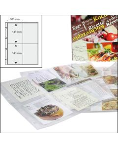 15 Pages for Recipe Album
