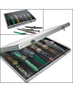 Display Case Alu - 6 Compartments