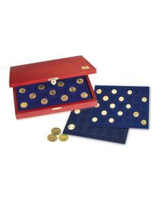 Coin Case 'Elegance' - with 3 trays of your choosing