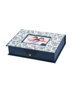 "Storage Box ""Leonardo"" Blue Small"
