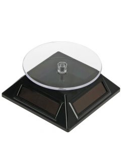Solar Powered Turntable - Black