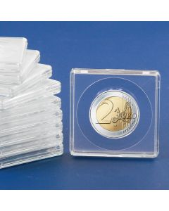Square Coin Capsules (10 Pack)