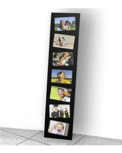 Wooden picture frame black