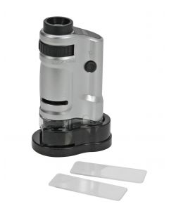 Zoom Microscope with LED and stand
