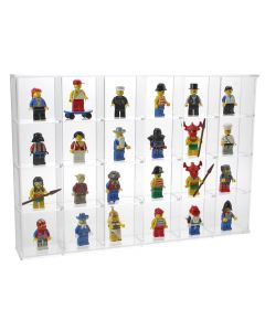 Acrylic Glass Display Case - 24 spaces