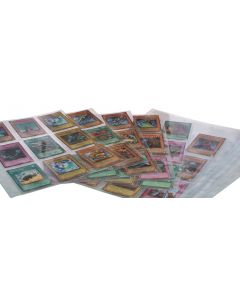 9 pocket page for trading sport cards