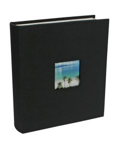 Photo album textile black