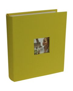 Photograph Album in Yellow