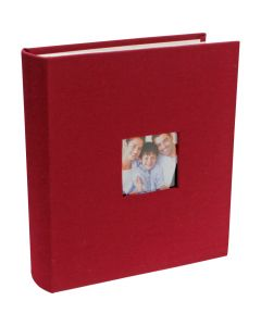 Photograph Album in Burgundy