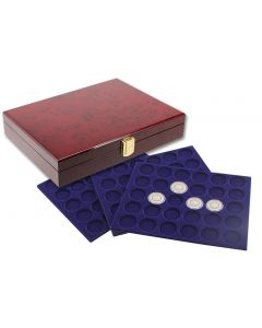 Premium Coin Case With 3 Trays of Your Choice