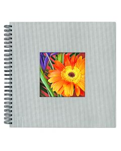 Large Format Photo Album - Silver