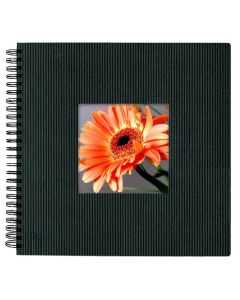 Large Format Photo Album in Black