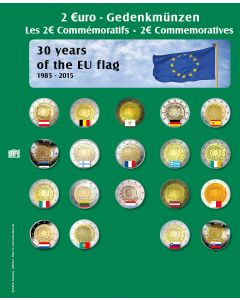 "Page for ""2 Euro"" Commemorative Coins (2015) No. 7341-15"