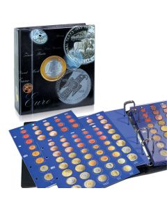 TOPset-Album for Euro-Sets with Coin Pages